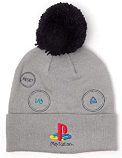 sap-media Sony Playstation Embroidered Retro Logo Adjustable Cap BA271584SNY Black//Red Unisex