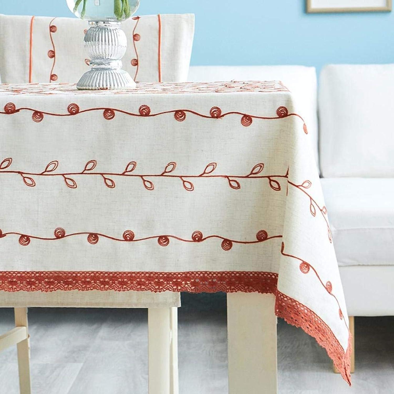 Felices compras MARCU Home Manteles, manteles Europeos Bordados de de de Tela, manteles de Mesa de café, manteles rectangulares, 2, 140  220 cm  barato