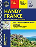 Philip s Handy Road Atlas France, Belgium and The Netherlands: Spiral A5 (Philip s Road Atlases)