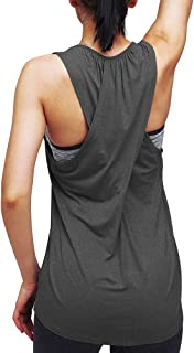 Workout Tops for Women Yoga Athletic Shirts Running Tank Tops Gym Workout Clothes