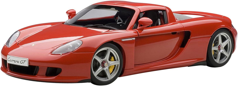 AUTOart Diecast Model Porsche Carrera GT in Red