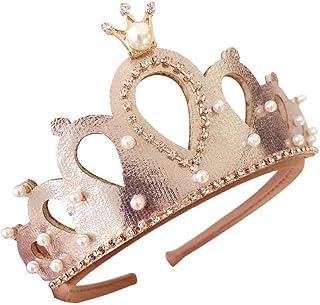 Toddler Baby Kid Girls Headwear Princess Rhinestones Tiara Birthday Party Hair Accessories Gifts for Kids