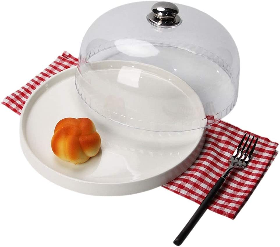 Ultra-Cheap Deals Dealing full price reduction Portable European Transparent Cake Stand Home Fruit Tray Living