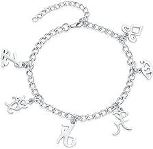 XOCON The Mortal Instruments City of Bones Inspired Angelic Power Rune Symbols Bracelet
