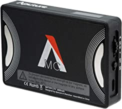 Aputure MC RGB LED Video Light, Aputure Amaran AL-MC Full Color RGB Light, Pocket Size Video Light with 3200k-6500k Adjustable, Built-in Lighting Effect App Control USB-C PD & Wireless Charge