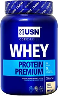 (2 Pack) - USN - 100% Whey Protein Vanilla | 908g | 2 PACK BUNDLE