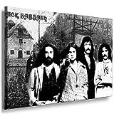 Heavy-Metal-Band, Black Sabbath Bild/Leinwandbild fertig