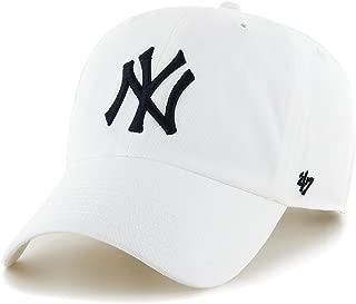 '47 Brand MLB NY Yankees Clean Up Cap - White