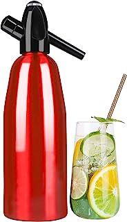 ILH Soda Siphon Crystal Maker Eau pétillante Soda Makers pour l'ajout Individuel d'acide carbonique dans l'eau du Robinet...