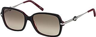 Pierre Cardin Oval Sunglasses for Women - Brown