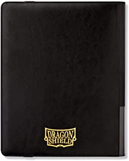 Arcane Tinman Binder: Dragon Shield 18 Pocket (Sideload) Portfolio:, Black, One Size