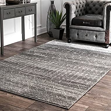 nuLOOM Moroccan Blythe Area Rug, 5' x 7' 5 , Dark Grey