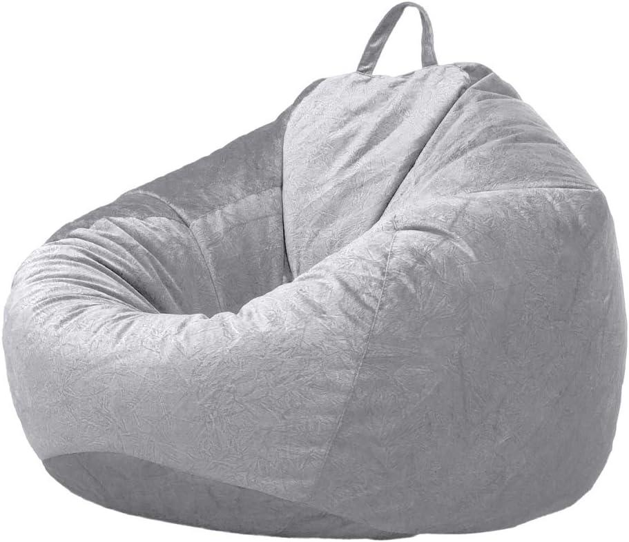 Grey Baoblaze Audlt Teen Size Bean Bag Chair