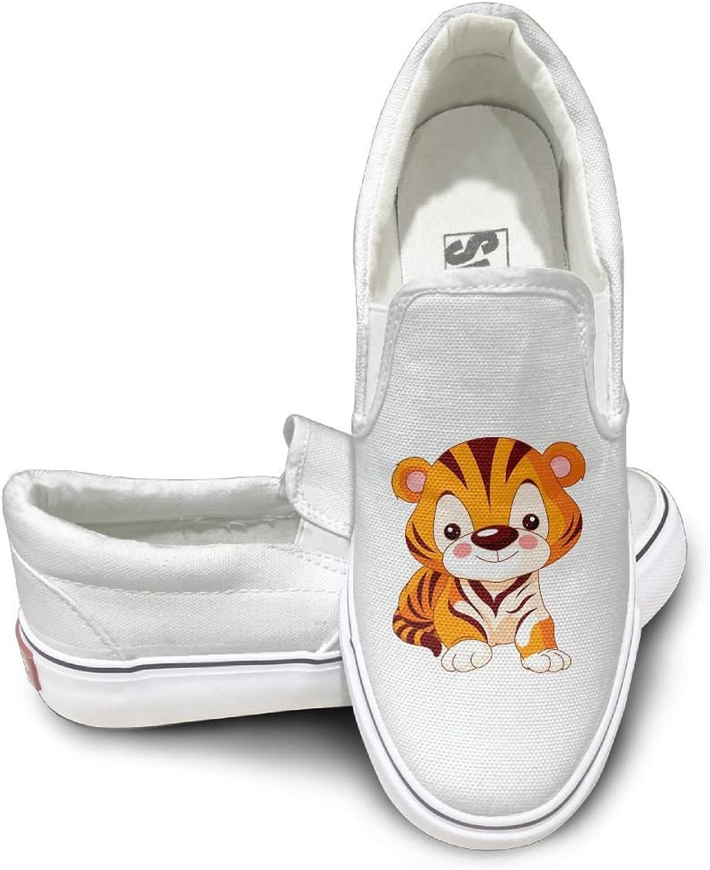 Men Women Low Cut Casual Sneaker Cute Tiger shoes