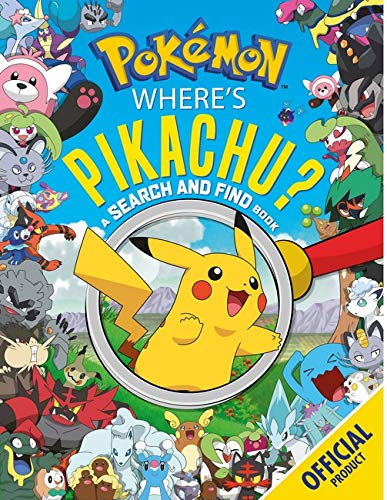 Where's Pikachu? A Search and Find Book: Official