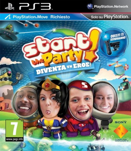 Sony Start the Party! Save the World, PS3 PlayStation 3 Inglese videogioco