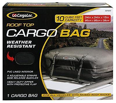 CargoLoc Aluminum Roof Top Cross Bar Set