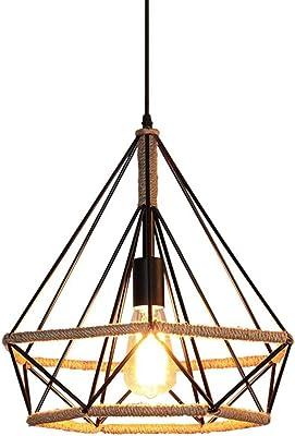 Lámparas de araña Retro Country Loft Hierro artesanía lámpara de ...