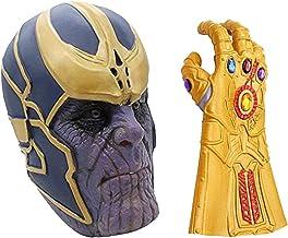 MIMINUO Máscara de Cosplay de Avengers Infinity War con Accesorios de Fiesta de Disfraces de Guante de guantelete Infinito
