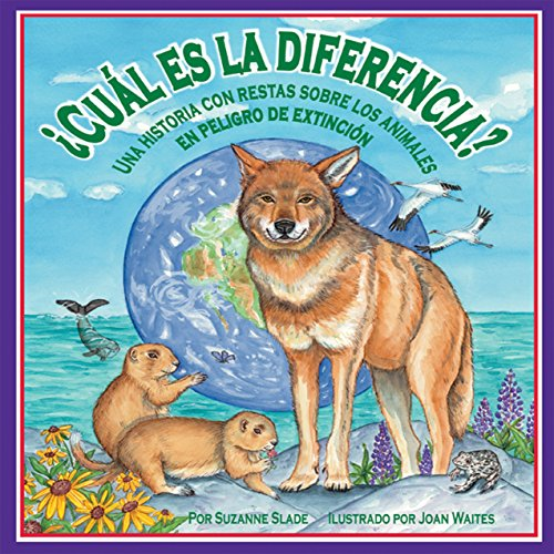 ¿Cuál es la diferencia?: Una historia con restas sobre los animales en peligro de extinción [What Is the Difference?: A Subtraction Story About Animals in Danger of Extinction]  Audiolibri