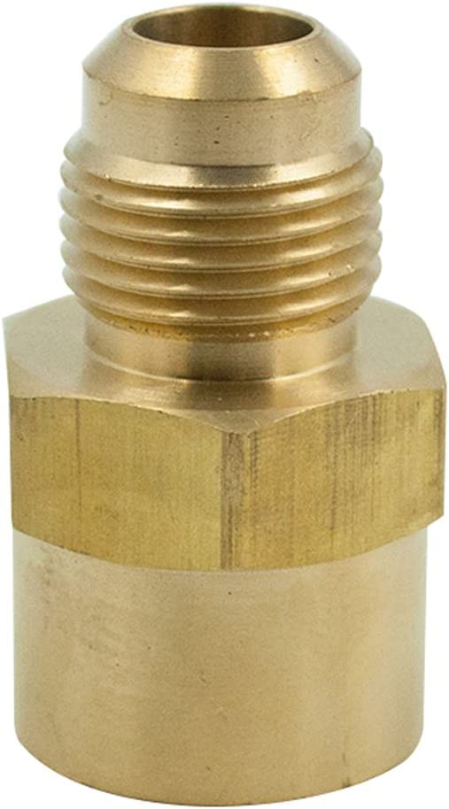 1//4 Tube OD Compression to 1//8 Male Npt Run Tee Fitting Adapter HVAC Air