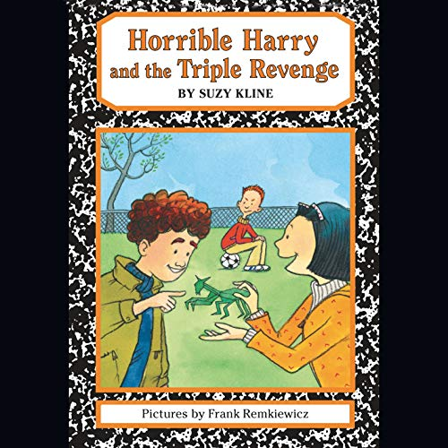 Horrible Harry and the Triple Revenge audiobook cover art
