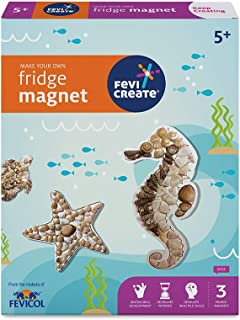 Pidilite Fevicreate Make Your Own Fridge Magnets DIY Art and Craft Kit for Kids