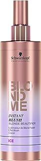 Schwarzkopf Professional Blondme Instant Blush Tono Ice Tratamiento Capilar - 250 ml Rubio Claro (914-68895)