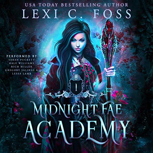 Midnight Fae Academy: Book 1 cover art