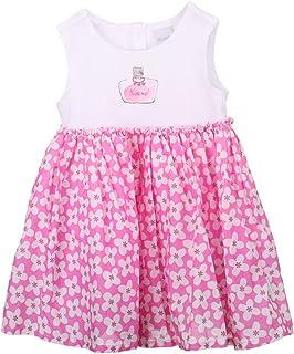 Stummer Mini Girls Dress, White, Size 80, 12 Months