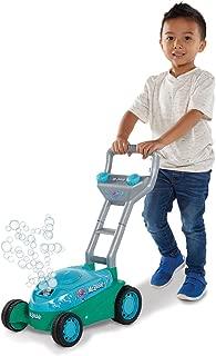 Kid Galaxy Mr. Bubble Lawn Mower Toy, Blue/Teal, 20 x 14 x 10.75