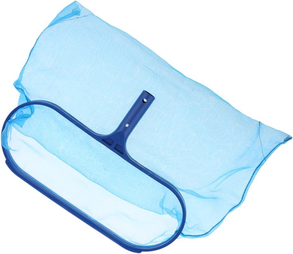 for Cleaning Bottom Surface of Swimming Pools Hot Tubs B Blesiya Pool Net Leaf Skimmer Net Bag Leaf Rake Pool Skimmer Spas and Fountains #1 Fine Mesh Net