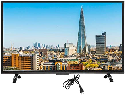 $651 Get Ciglow Smart TVs, 43inch WiFi 4K HDR HD Smart TV Support VGA, Earphone, USB, AV, HDMI, RF Freeview Media TV with Wall Mountable, Black(US)