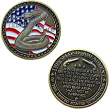 2nd Amendment Challenge Coin,Second Amendment Coin
