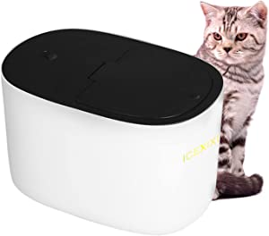 ICEXIXI Cat Food Storage Container - Airtight Dog Food Container Large Capacity Pet Storage Container with Lid Strong Resistant to Fall Easy to Use Suitable for Pet Food Storage