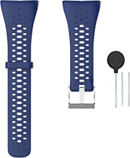 Weinisite Watch Band for Polar M400/Polar M430Replacement Soft Silicone Band for M400/Polar M430 Sport Watch