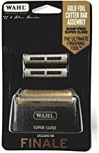Wahl Professional 5 ستاره سری Finale Replacement Foil & Cutter Bar Assembly # 7043 - Hypo-Allergenic For Super Smooth Shaping - سیاه و سفید