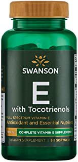 Swanson Full Spectrum Vitamin E with Tocotrienols 60 Sgels