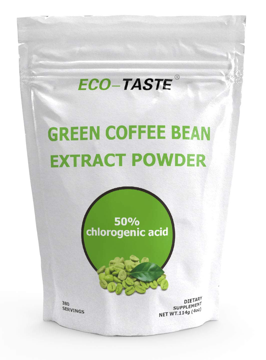 Green Coffee Bean Extract Powder For Improved Metabolism And Fat