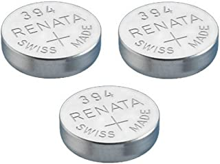 Renata Single Watch Battery Swiss Made Renata 394 or SR936SW Or AG9 1.5V (3 x 394 Or SR 936 SW)