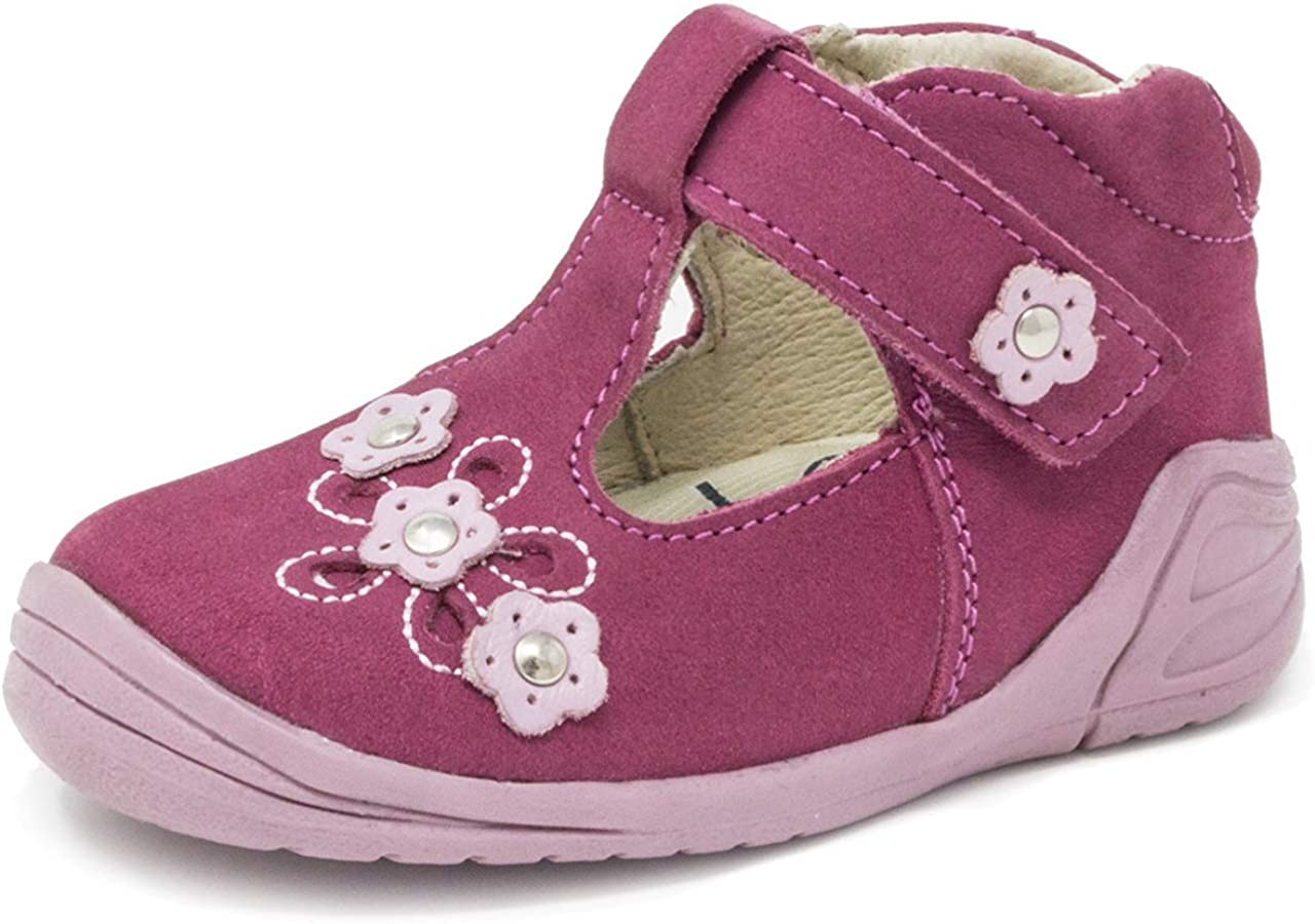 Wobbly Waddlers Leather Toddler Shoes with Arch Support for Girls - Nova Amelia