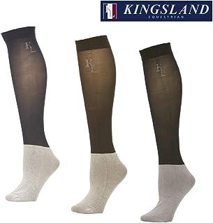 3-pack de Kingsland de mujer y de hombre medias azul marino show socks KL logo