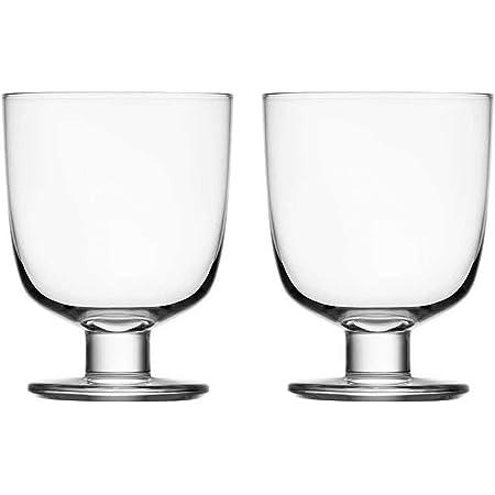 【正規輸入品】 iittala (イッタラ) タンブラー Lempi グラス ペア 2個セット クリア 約340ml 1008683