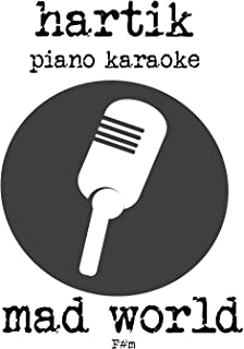 Mad world Piano Karaoke (F#m)