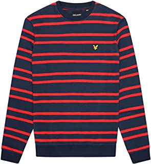 Lyle and Scott Double Stripe Sweatshirt - Cotton