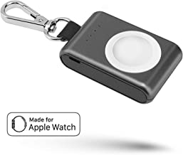 Pantheon Portable Compatible Apple Watch Charger iWatch Travel Charger [MFI Certified Lightning Powerbank for Series SE 6 ...