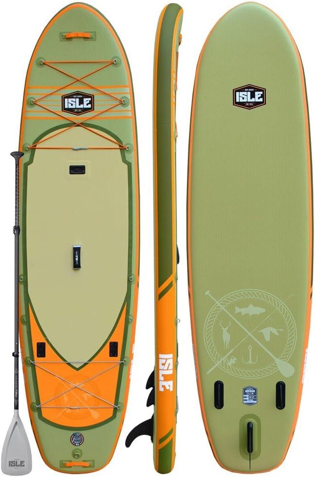 ISLE Sportsman Inflatable Fishing Paddle Board
