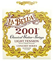 LA BELLA ラベラ クラシックギター弦 2001 Classical - Light Tension