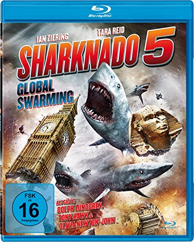 Sharknado 5 - Global Swarming (uncut Fassung) [Blu-ray]