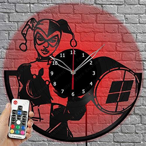 61khvz9U9hL._SL500_ Harley Quinn Clocks